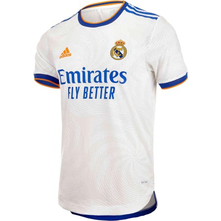 2022 Real Madrid Home Kit Front Image
