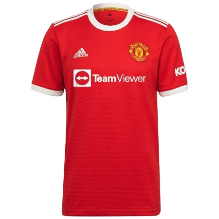 21/22 Manchester United Home Kit Front Image
