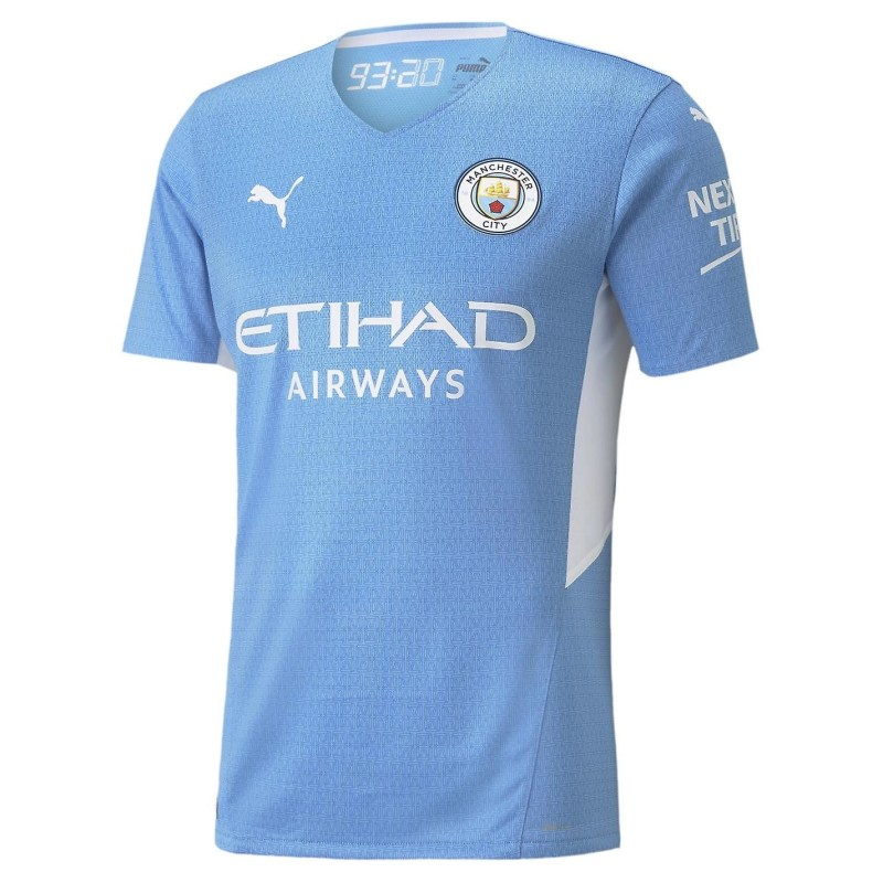 21/22 Manchester City Home Kit Front Image