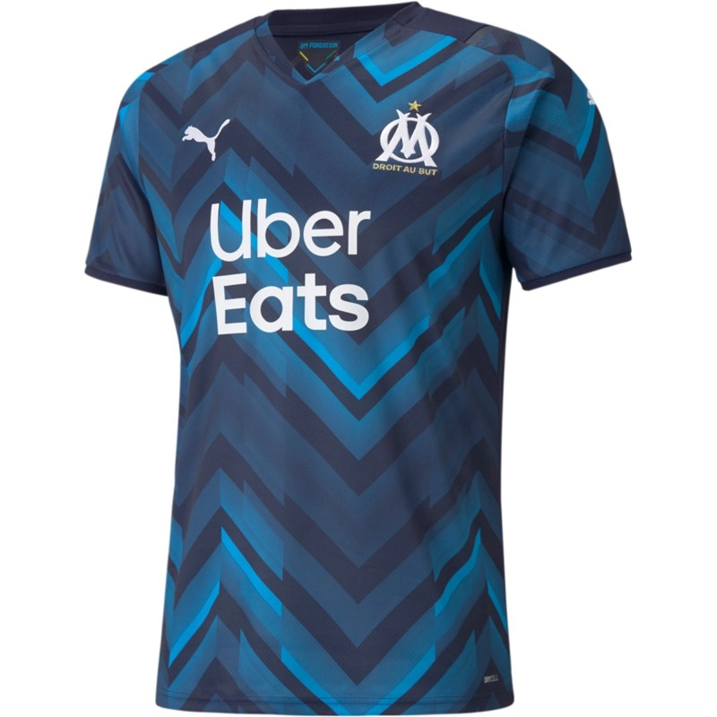 21/22 Marseille Away Kit Front Image