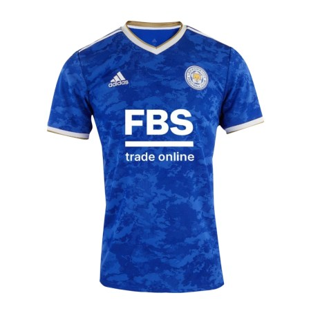 21/22 Leicester City Home Kit Front Image