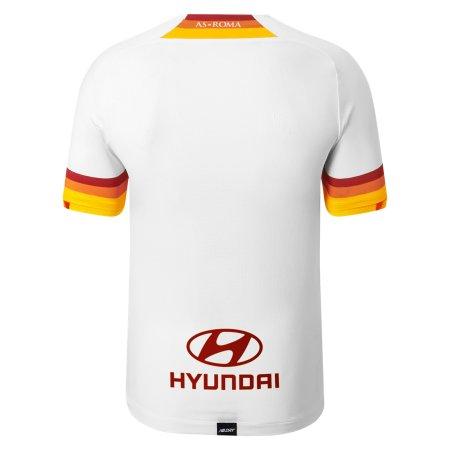 21/22 Roma Away Kit Back Image