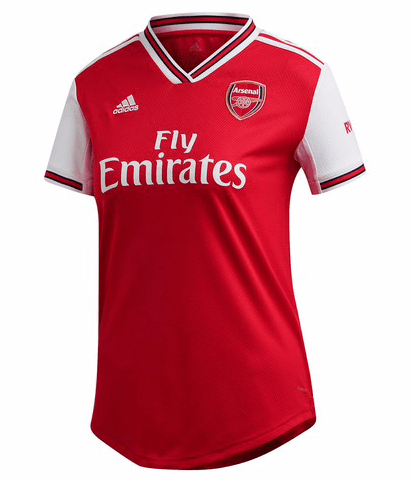 cheap for discount 01f09 0e416 Arsenal Women 2019/20 Home Kit