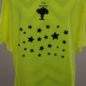 Men's YUCHII T-Shirt Lime Green