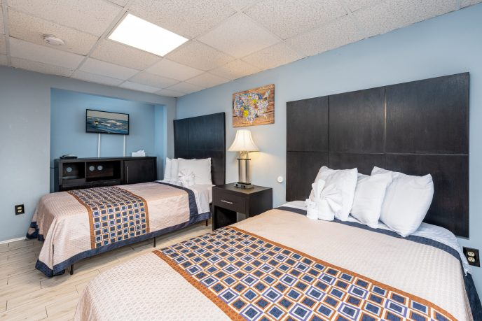 Room with Two Double Beds 2 | Hammock Inn North Beach