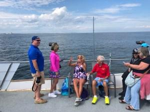 Jersey shore whale watching trip photos bill McKim