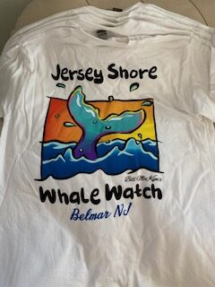 jersey shore whale watch tshirts 2020