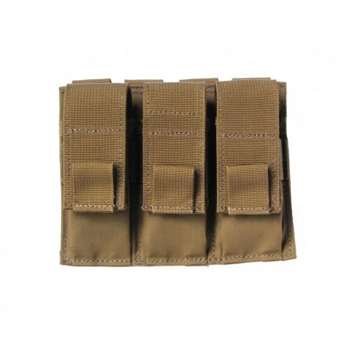 Modular (MOLLE) Universal Pistol Magazine Pouch, Triple, Type 1