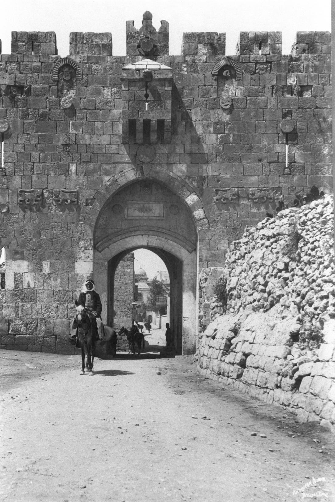Lions gate Léontine cohen JErusalem tours