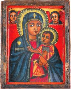 Ethiopian Madonna and Child