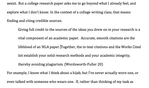 How To Format A Long Quote In Mla Style Jerz 39 S Literacy Weblog