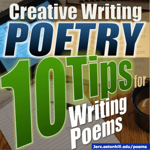 poetry 10 tips for writing poems