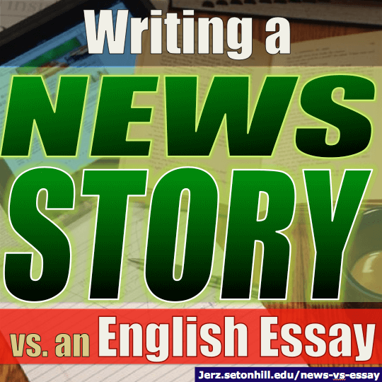 Essay writer news