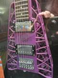 3D printed guitar.