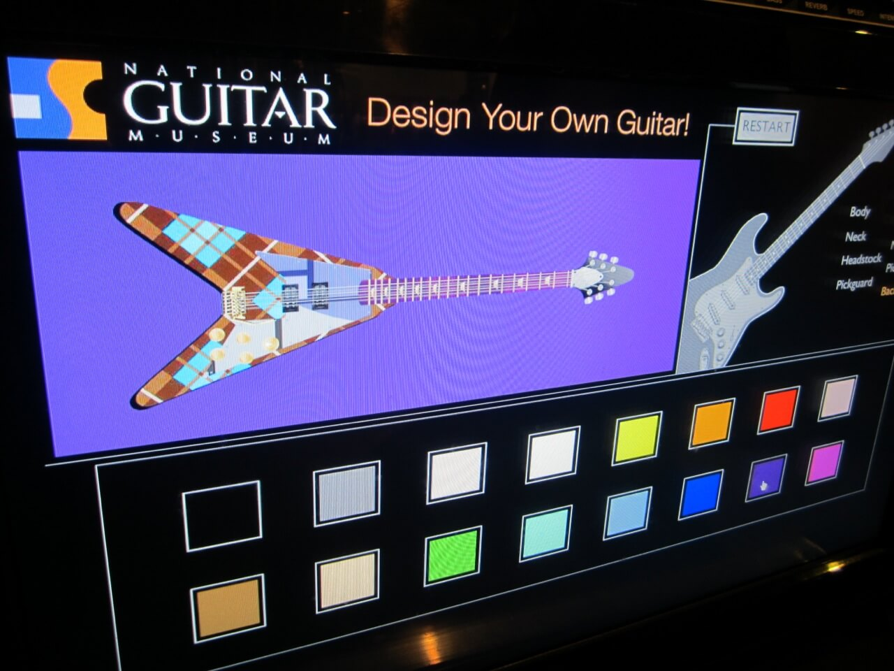 Because you can never have enough touch-screen kiosks in a museum geared for kids.