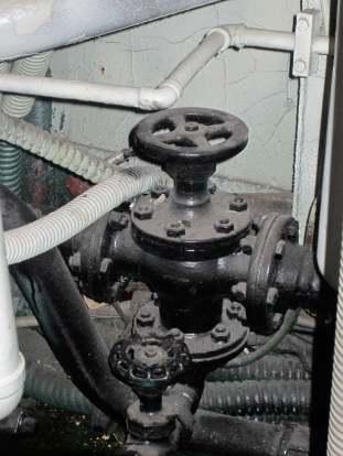 Equipment detail, USS Requin.