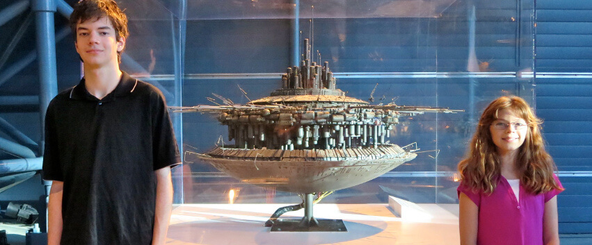 "The mothership model used in the filming of the cult 1977 film Close Encounters of the Third Kind."" (The true nerds out there are right now humming a certain five-note tune.)"