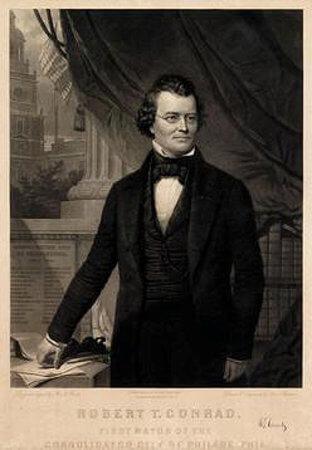 Robert T. Conrad, Whig mayor of Philadelphia, 1854-1856.
