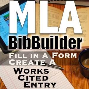 MLA BibBuilder