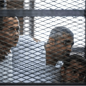 Peter Greste trial: Egypt rejects criticism of judicial system after jailing of Al Jazeera journalists