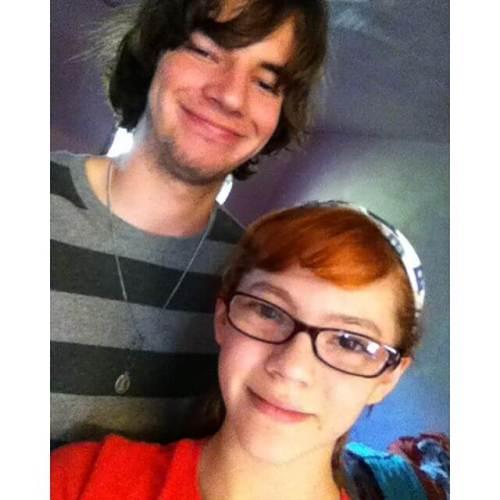 Random sibling selfie.