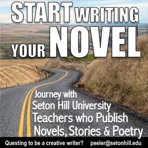 Start writing your novel. Journey with Seton Hill University teachers who publish novels, stories and poetry.