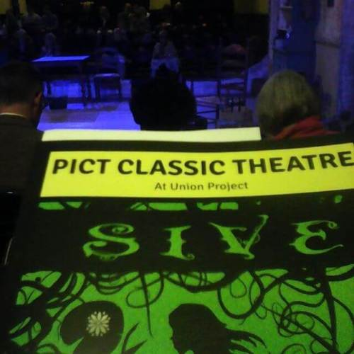 Opening night of Sive.