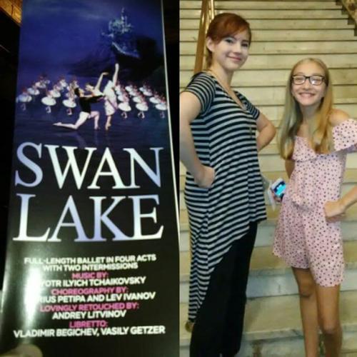 Russian Grand Ballet Swan Lake.