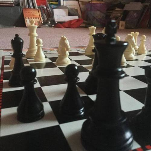 Again with the chess.