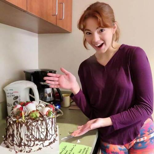 Amazing birthday cake, created by Jane Eyre herself, Karen Baum. (Thank you @kaboom1250!)
