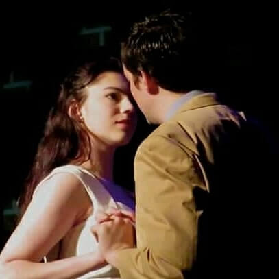 Carolyn as Maria in West Side Story