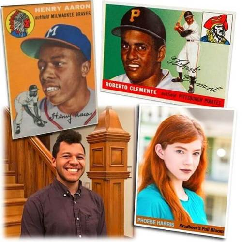 This weekend... Would YOU trade a Hank Aaron rookie card for Roberto Clemente... for her? FULL BLOOM