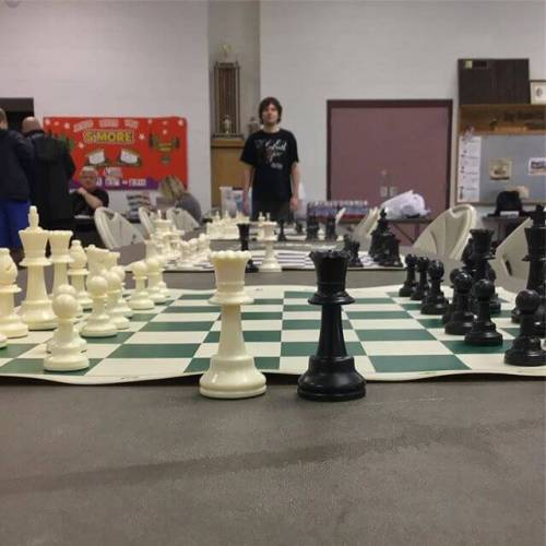 Chess tournament in Monroeville.