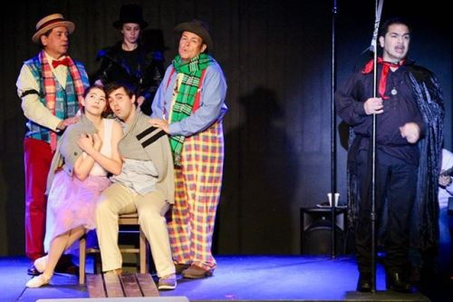 Come see Carolyn and her talented castmates in The Fantasticks (Theatre Factory, Trafford Pa.)