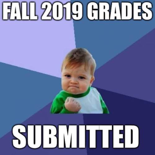 Grades submitted.