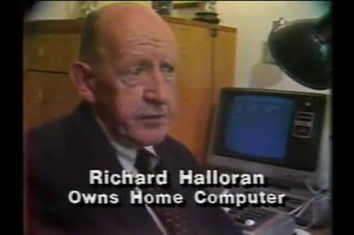 Richard Halloran / Owns Home Computer.