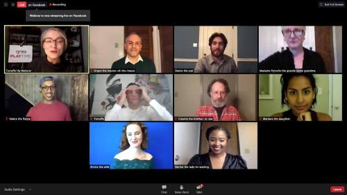 #PPTPlaytime Tartuffe @thepublicpgh (Looking forward to Part 2 of this live videoconference production tomorrow)