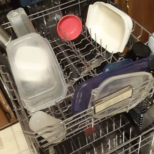 I am at that stage of life where I am excited about loading a new dishwasher for the first time. (The one that came with the house in 2003 finally died.)