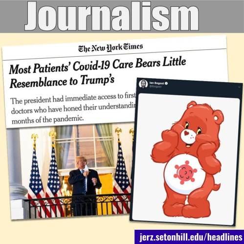 Headlines: Why editors matter in journalism.