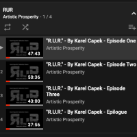 R.U.R. (Rossum's Universal Robots) Artistic Prosperity 2020