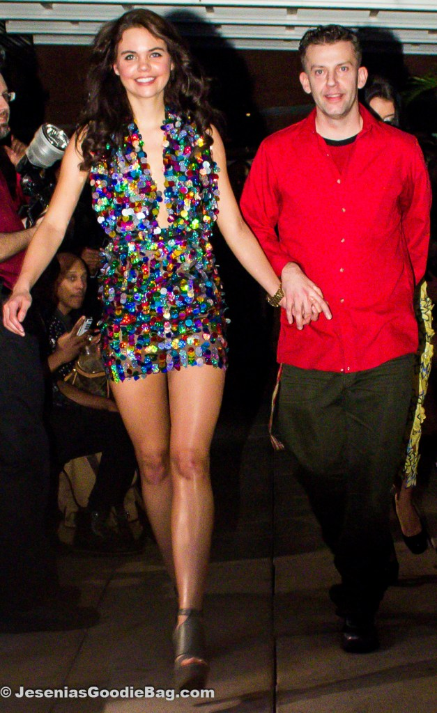 Model with Dean John for Dean John Fashions