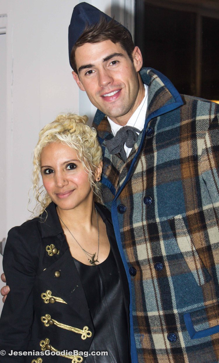 Jesenia (JGB Editor) with Chad White (Model)