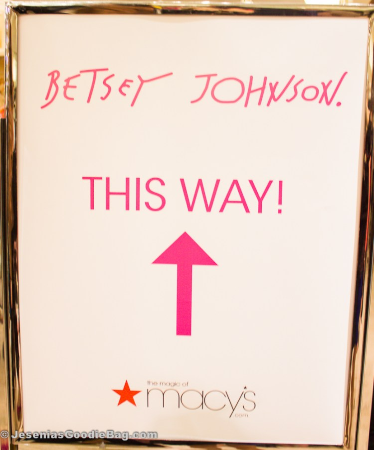 Betsey Johnson Event