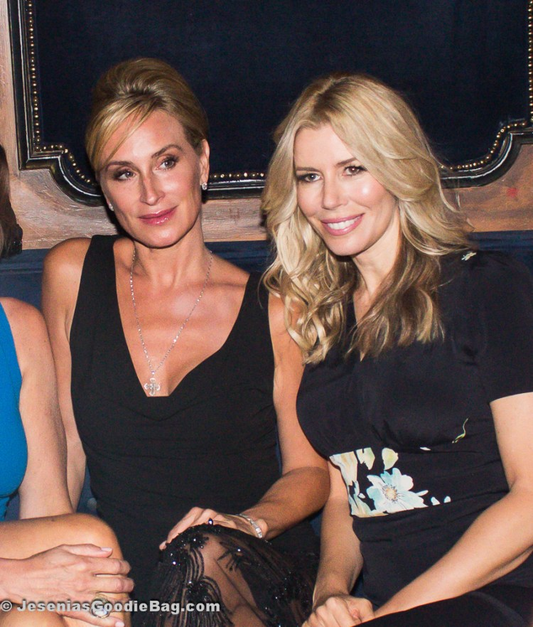 Sonja Morgan with Aviva Drescher