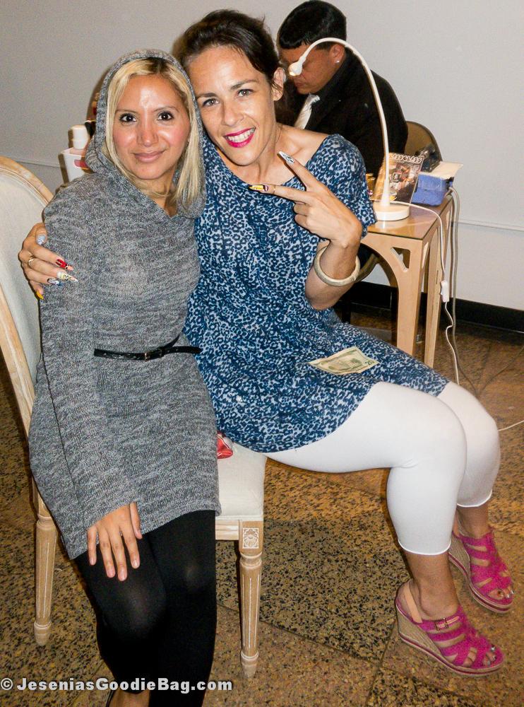 Jesenia (JGB Editor) with Rita de Alencar Pinto (Vanity Projects)