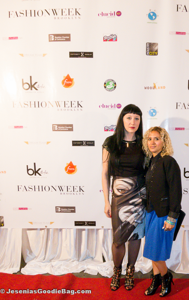 Angela Brejt (Designer) with Jesenia (JGB Editor)