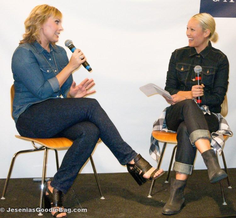 Jenn Rogien (Costume Designer) with Rachael Wang (Nylon Magazine)