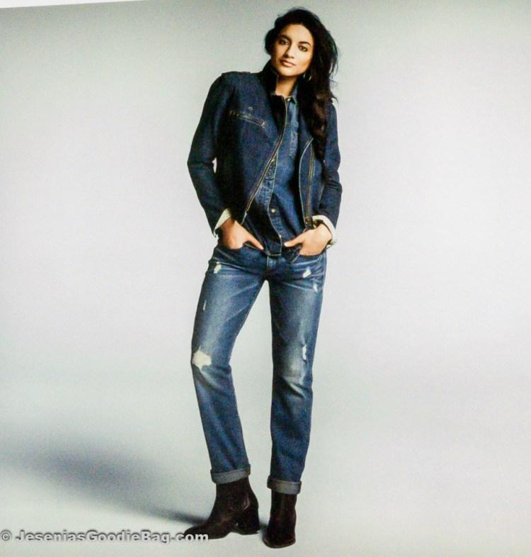 Chambray, Boyfriend Jeans (Gap)