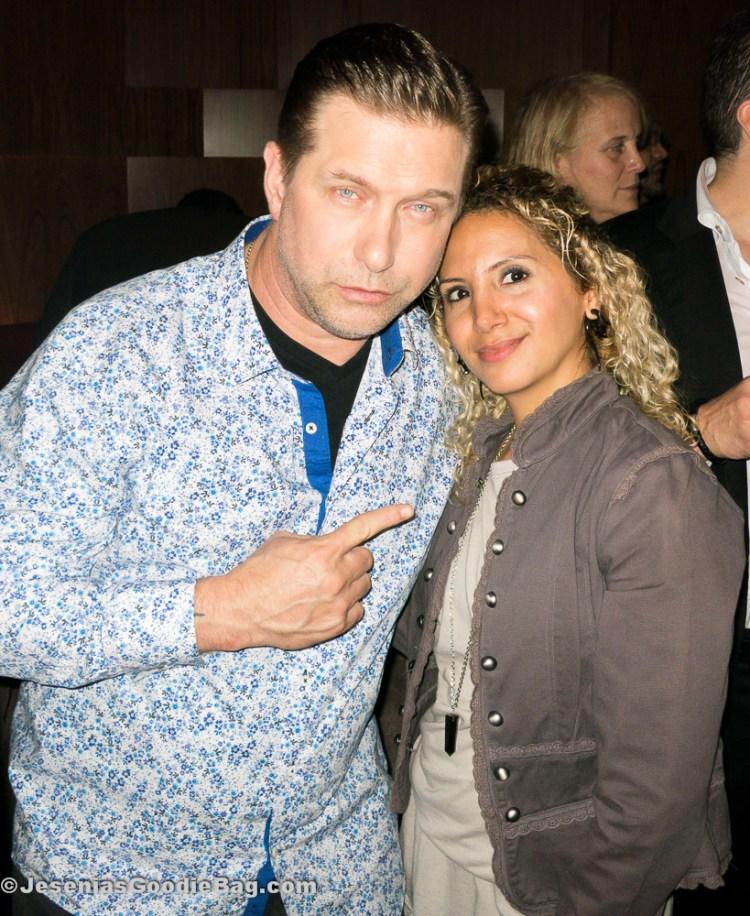 Stephen Baldwin with Jesenia (JGB Editor)