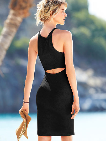 Victoria's Secret - Back CutOut Dress (Black)